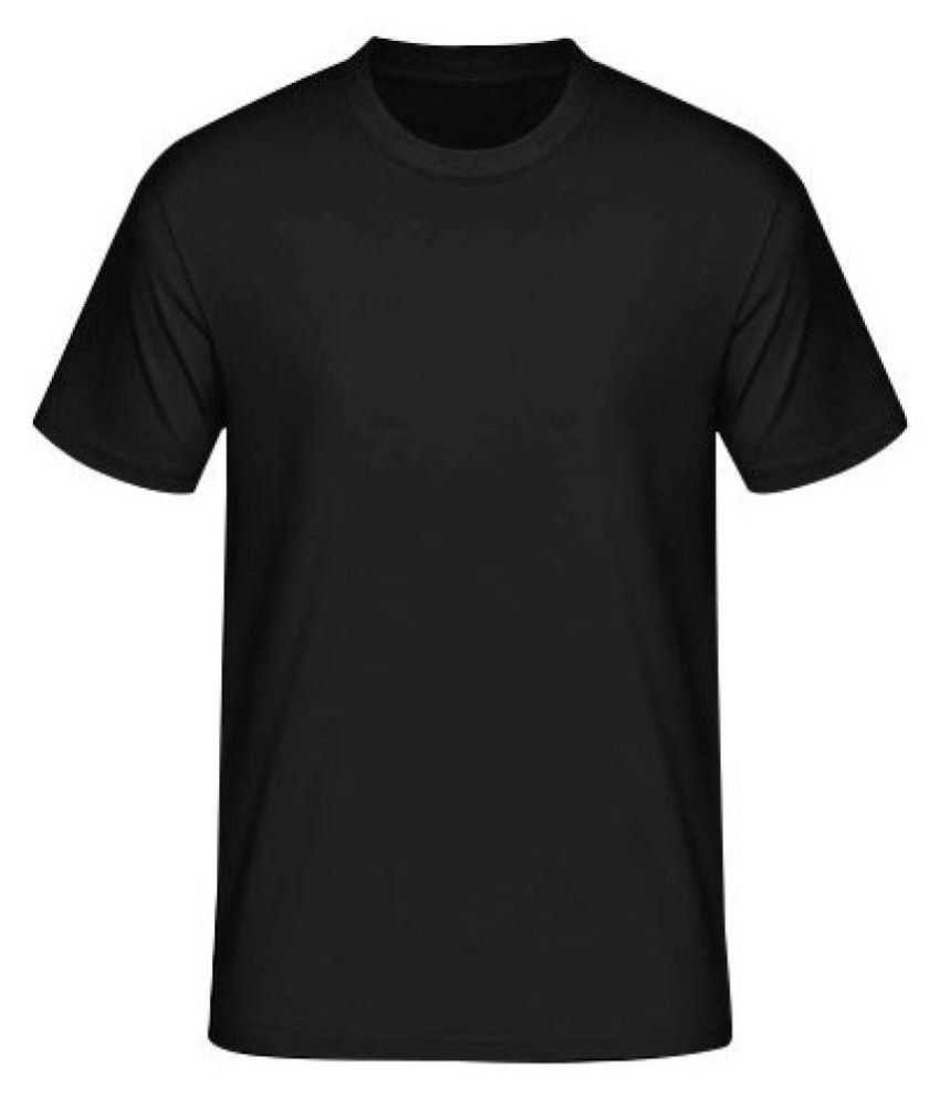 Tahiro Black Cotton T-Shirt