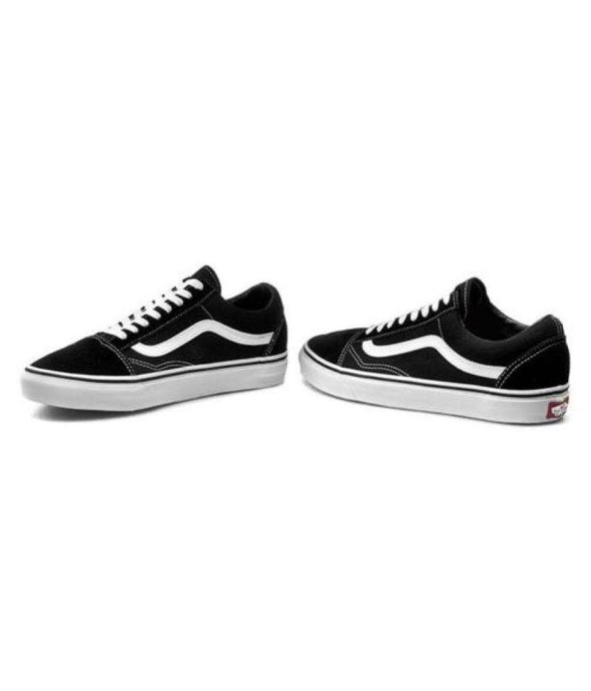 05d06b4b7 Vans Fashion Old Skool Coal Sneakers Black Casual Shoes - Buy Vans ...