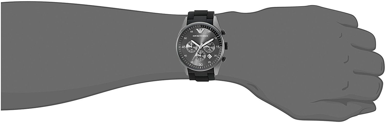 get cheap competitive price popular brand Timeless Chronograph Men's AR5889 Sport Black Watch