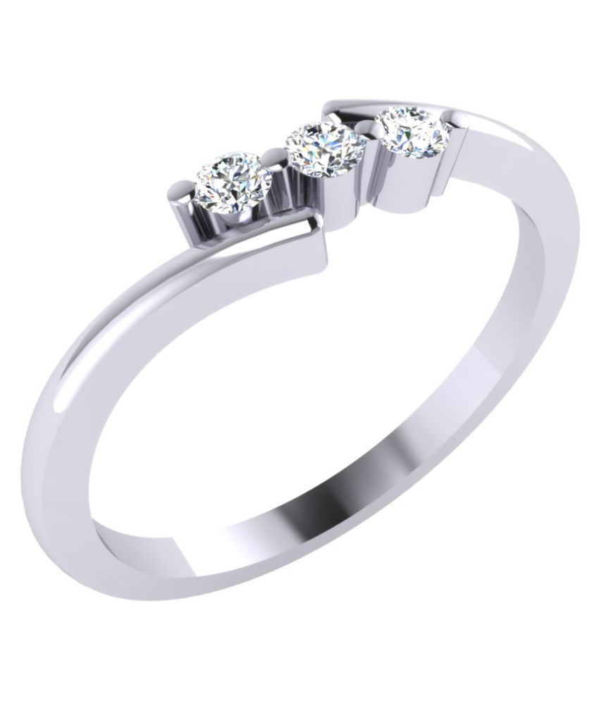 GO4CARAT 92.5 Silver Ring