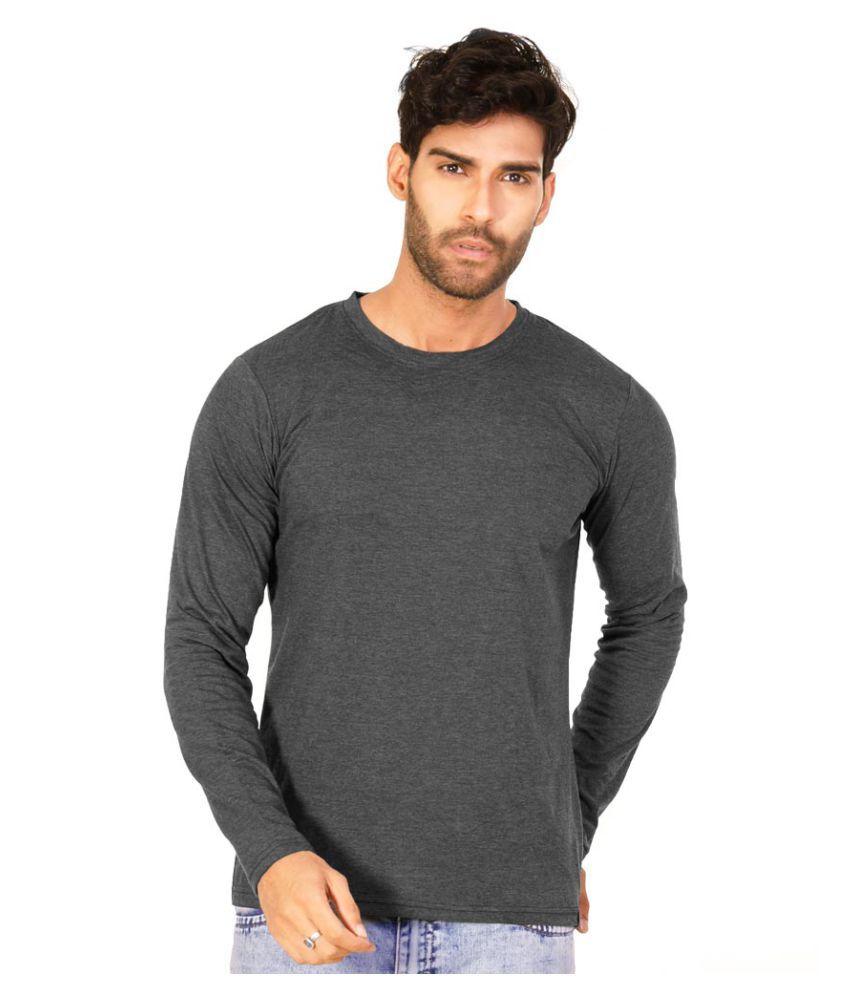Halftone Grey Round T-Shirt