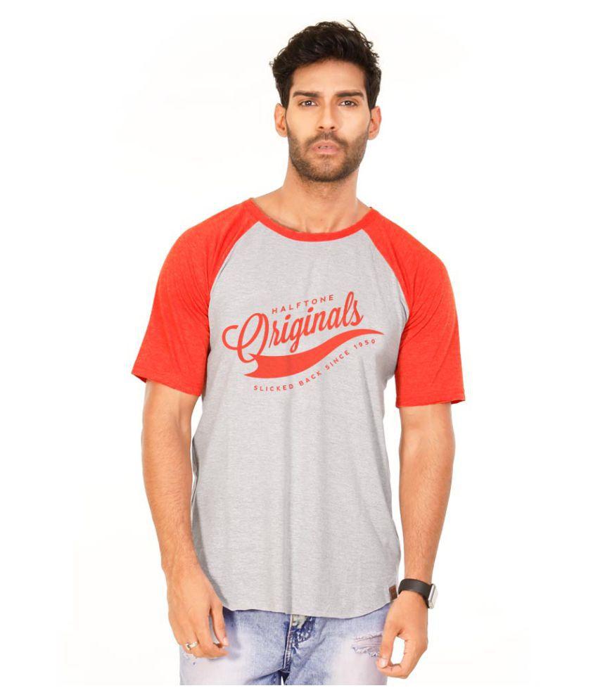 Halftone Multi Round T-Shirt