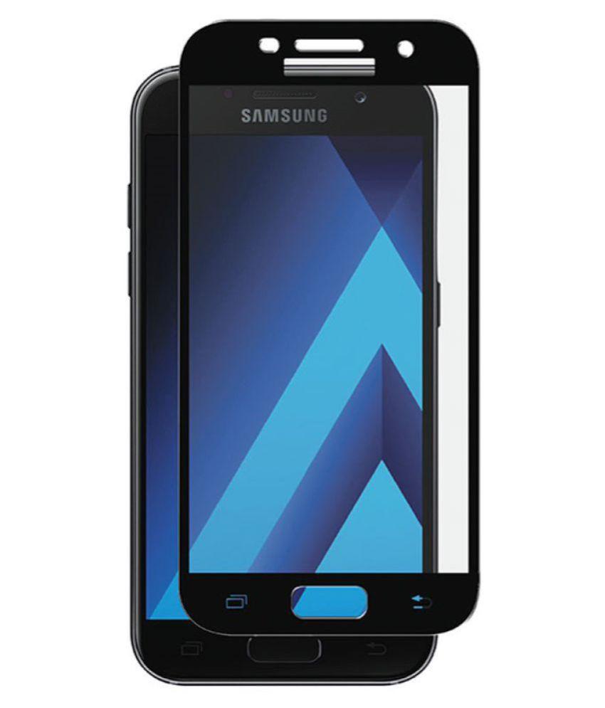 Samsung Galaxy A7 (2017) Tempered Glass Screen Guard By FIRSTGEAR