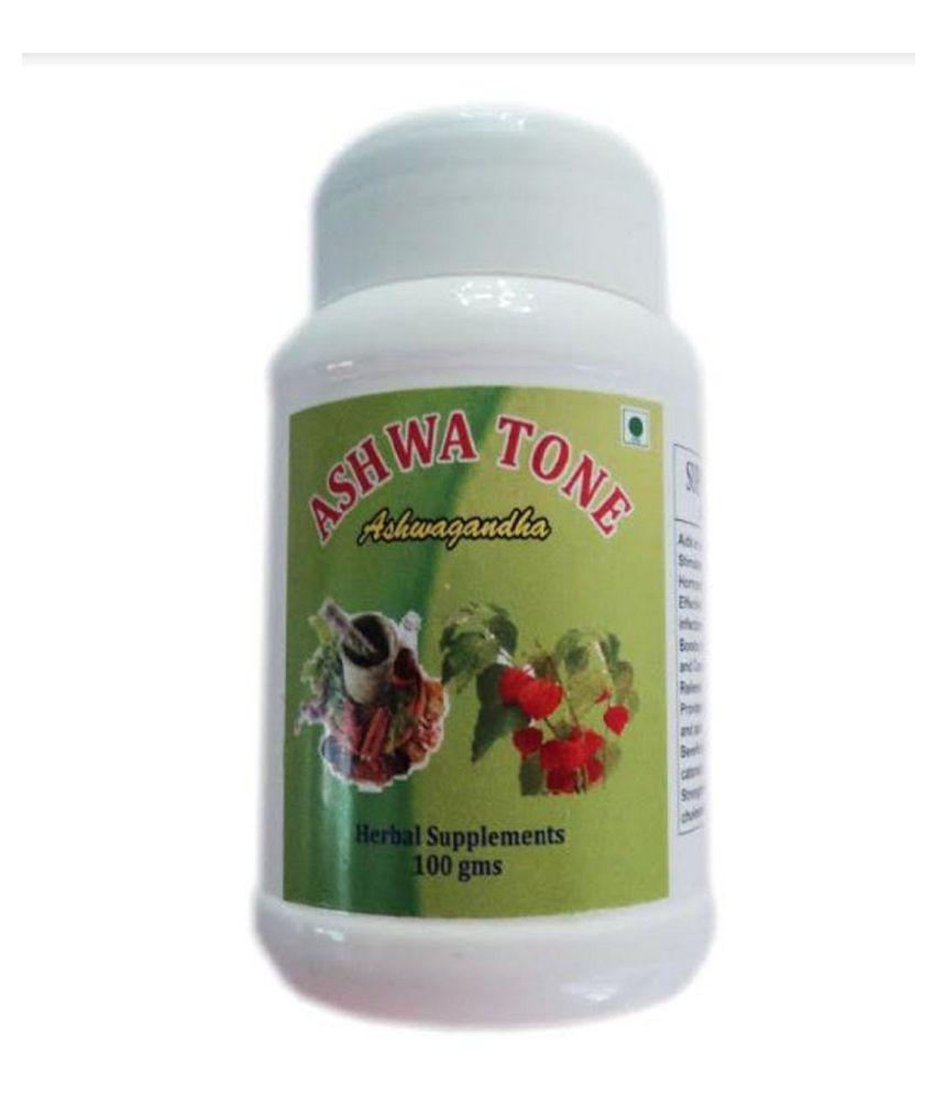 BioMed ASHWA TONE 100 gm Unflavoured Multivitamins Powder Pack of 2
