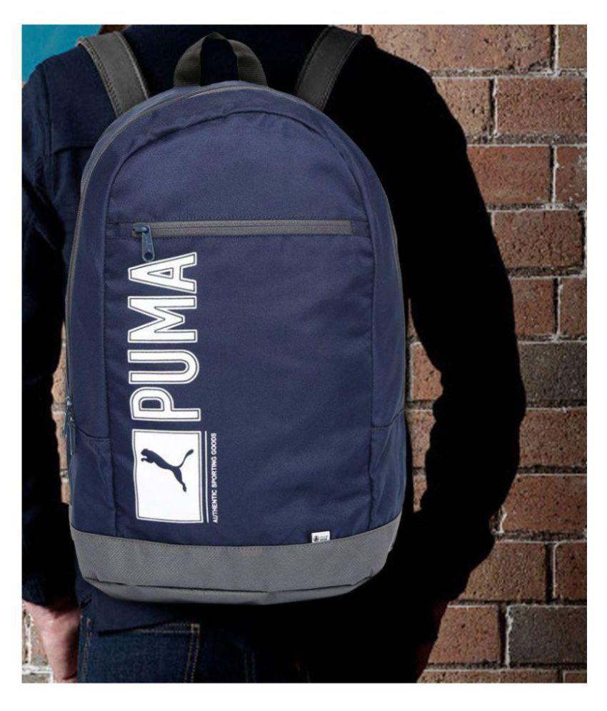 Puma Nevy Blue Poineer 25Liters Laptop Backpack