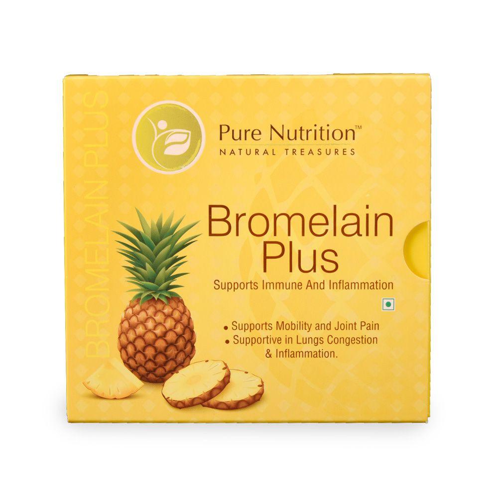 Pure Nutrition Bromelain Plus 45 gm Minerals Powder