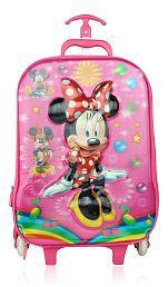 Tasni Pink Mouse 6D Trolley Bag