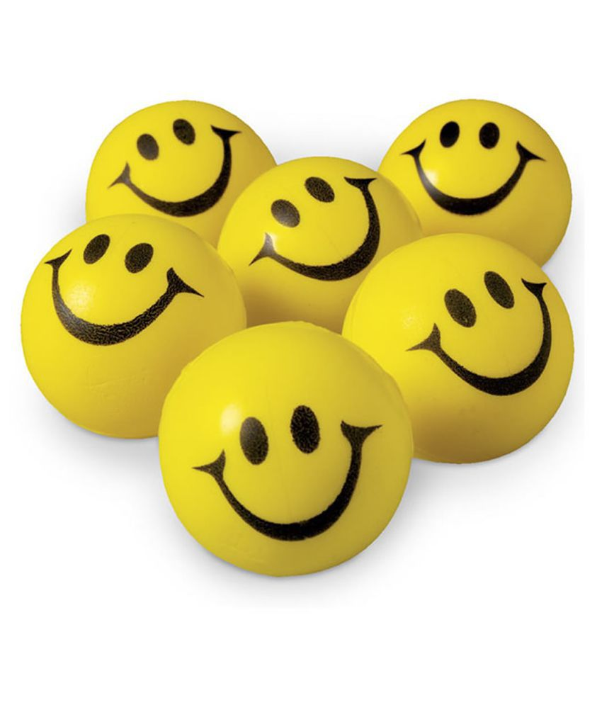 FStyler Stress Reliver Smiley Ball (Pack of 6)