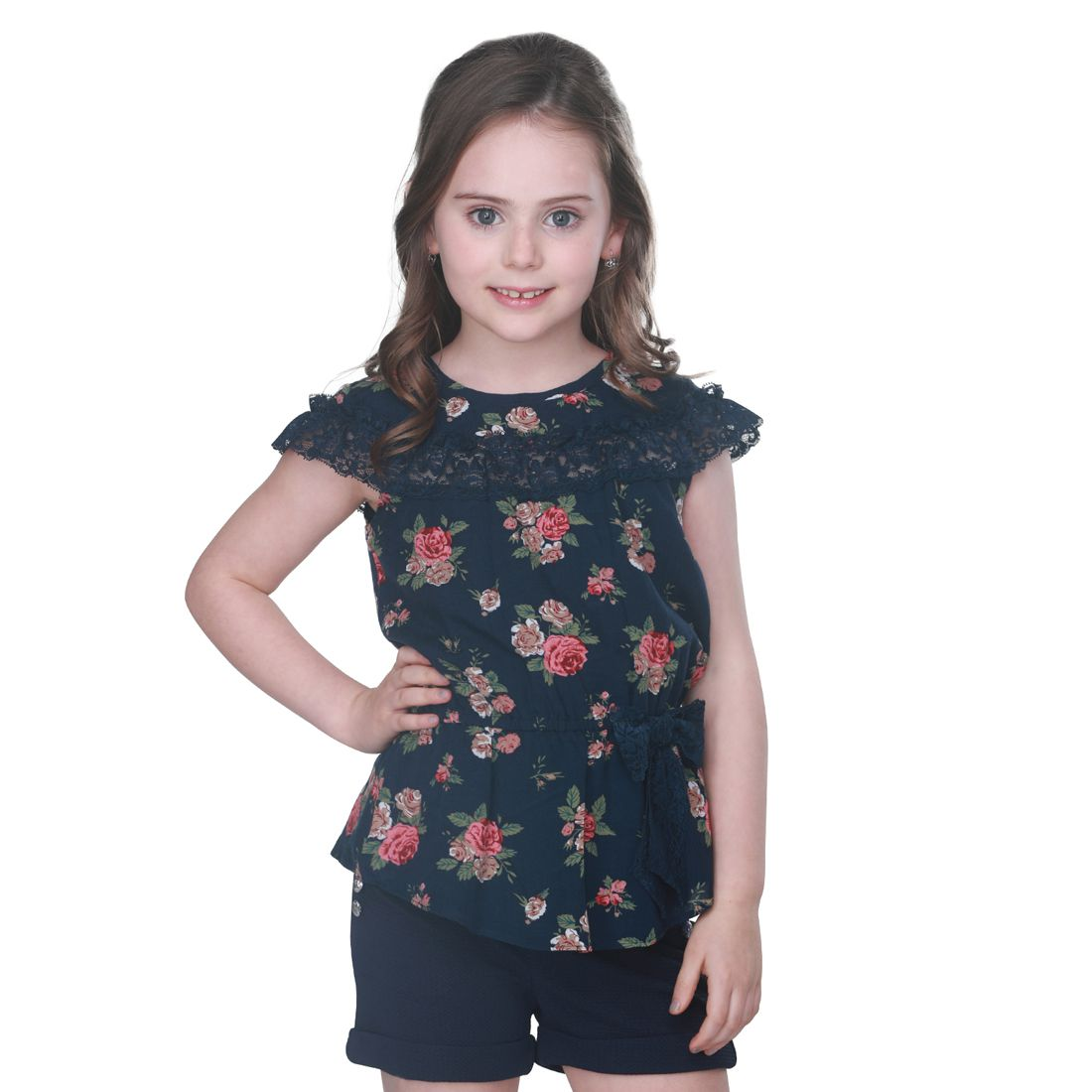 Cutecumber Girls Smart Casual Knit Top