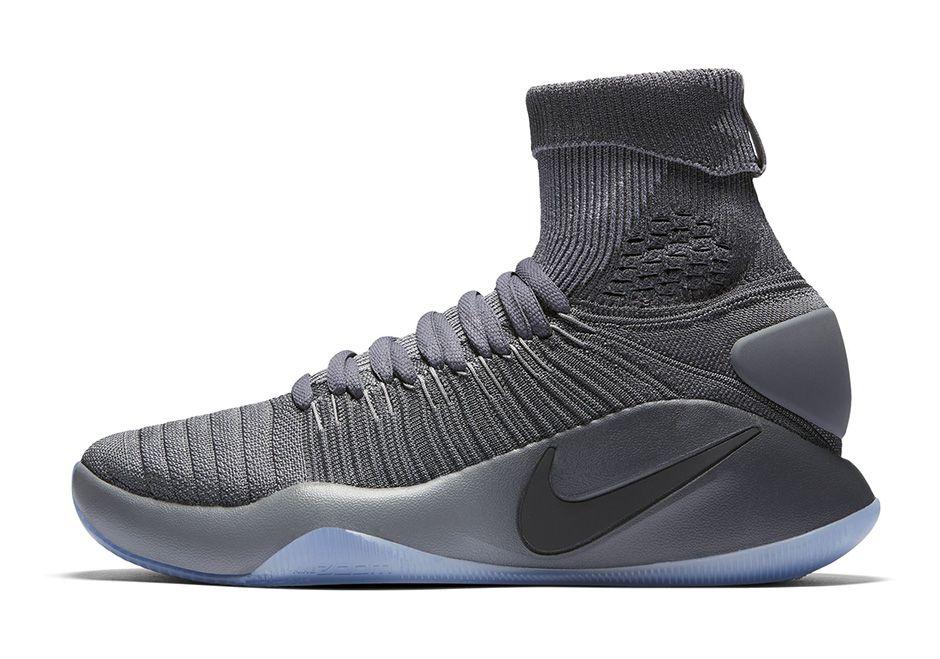 94690292ffb2 Nike Nike Hyperdunk Grey Elite Gray Basketball Shoes - Buy Nike Nike  Hyperdunk Grey Elite Gray Basketball Shoes Online at Best Prices in India  on Snapdeal