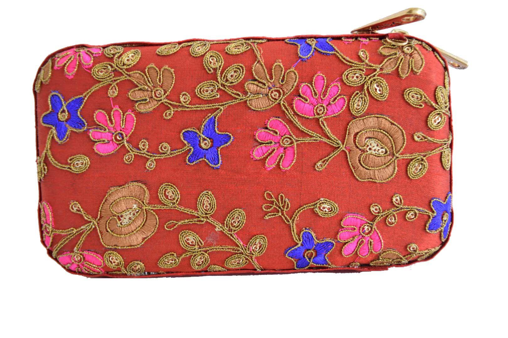 Mahadev Exports Multi Fabric Box Clutch