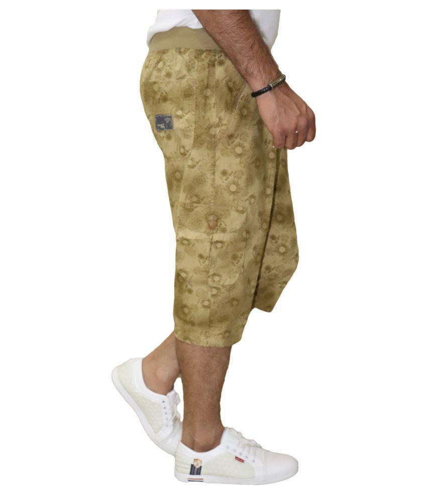 DREAM VISION Gold Shorts
