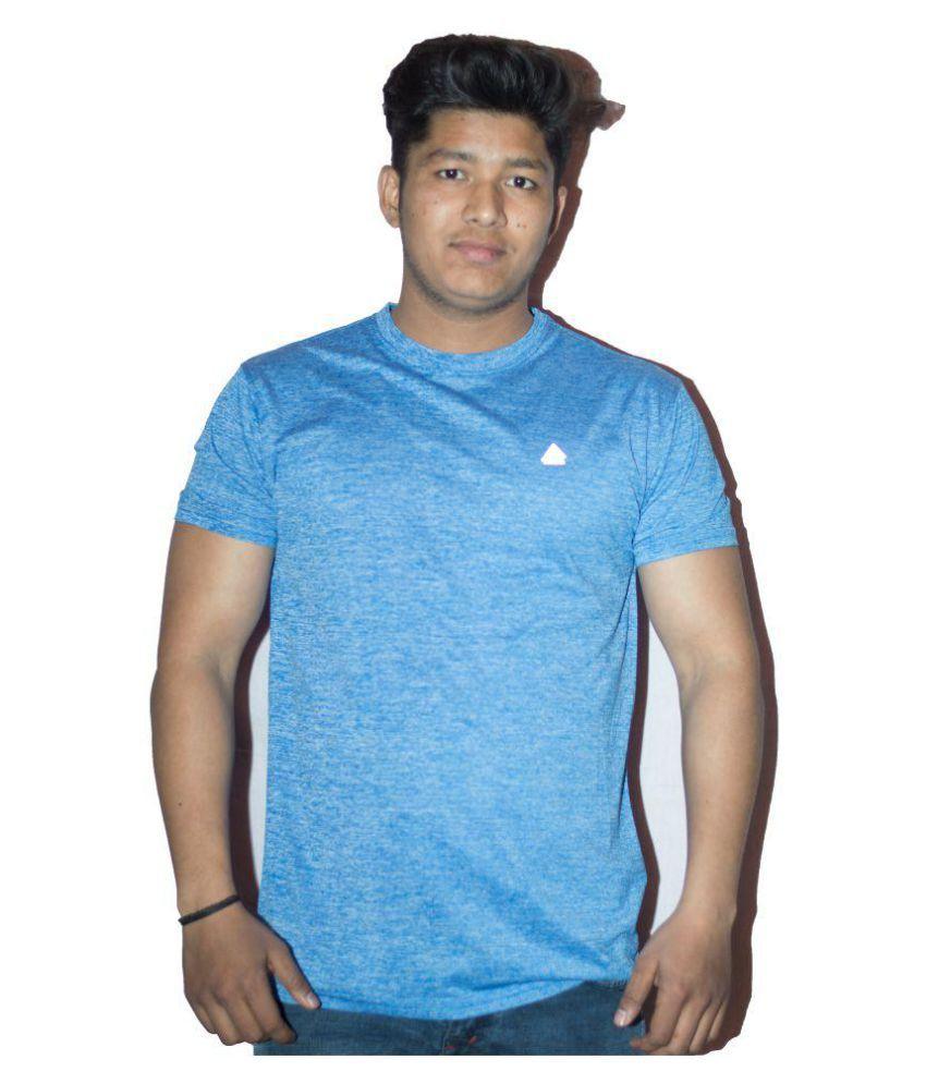 Hashtag Blue Round T-Shirt