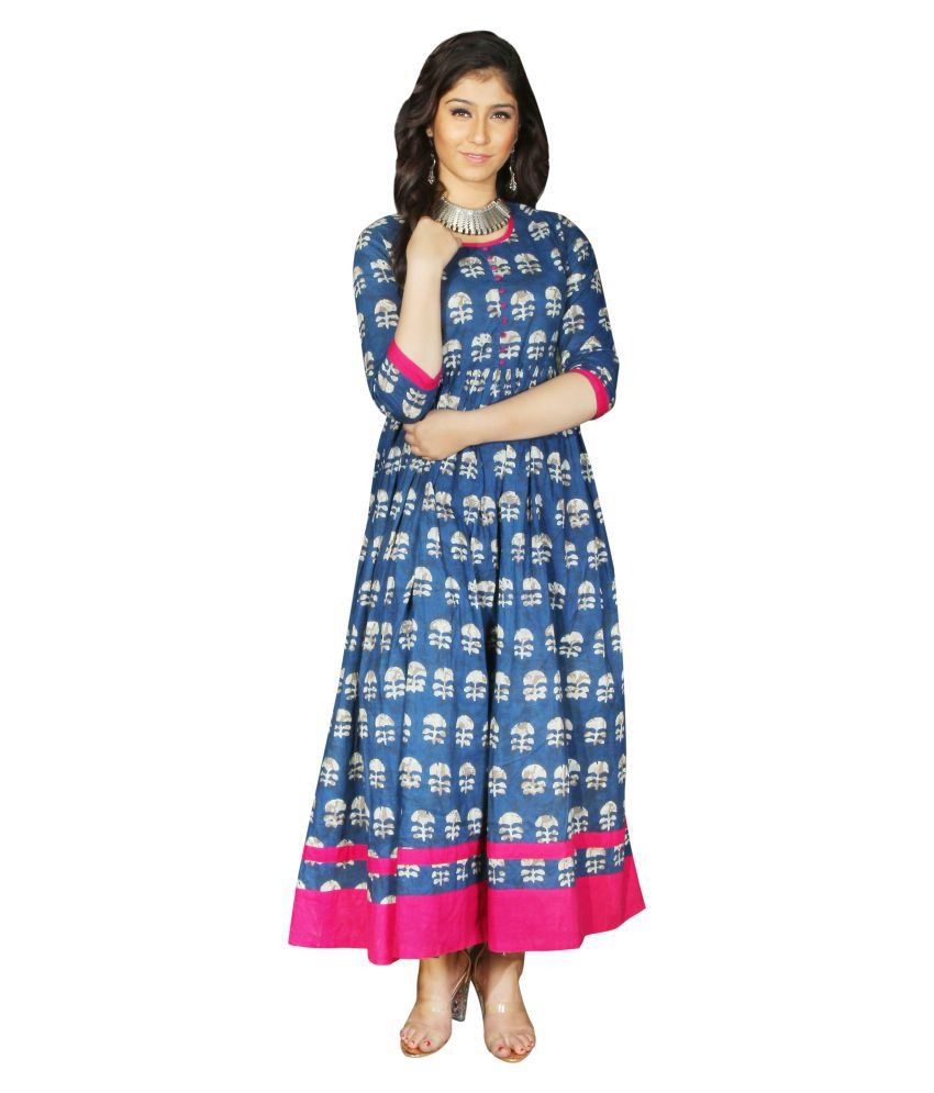814228a61c8d Jaipur Textile Hub Cotton Traditional Handmade Block Print Women s Kurti  Dress - Buy Jaipur Textile Hub Cotton Traditional Handmade Block Print  Women s ...