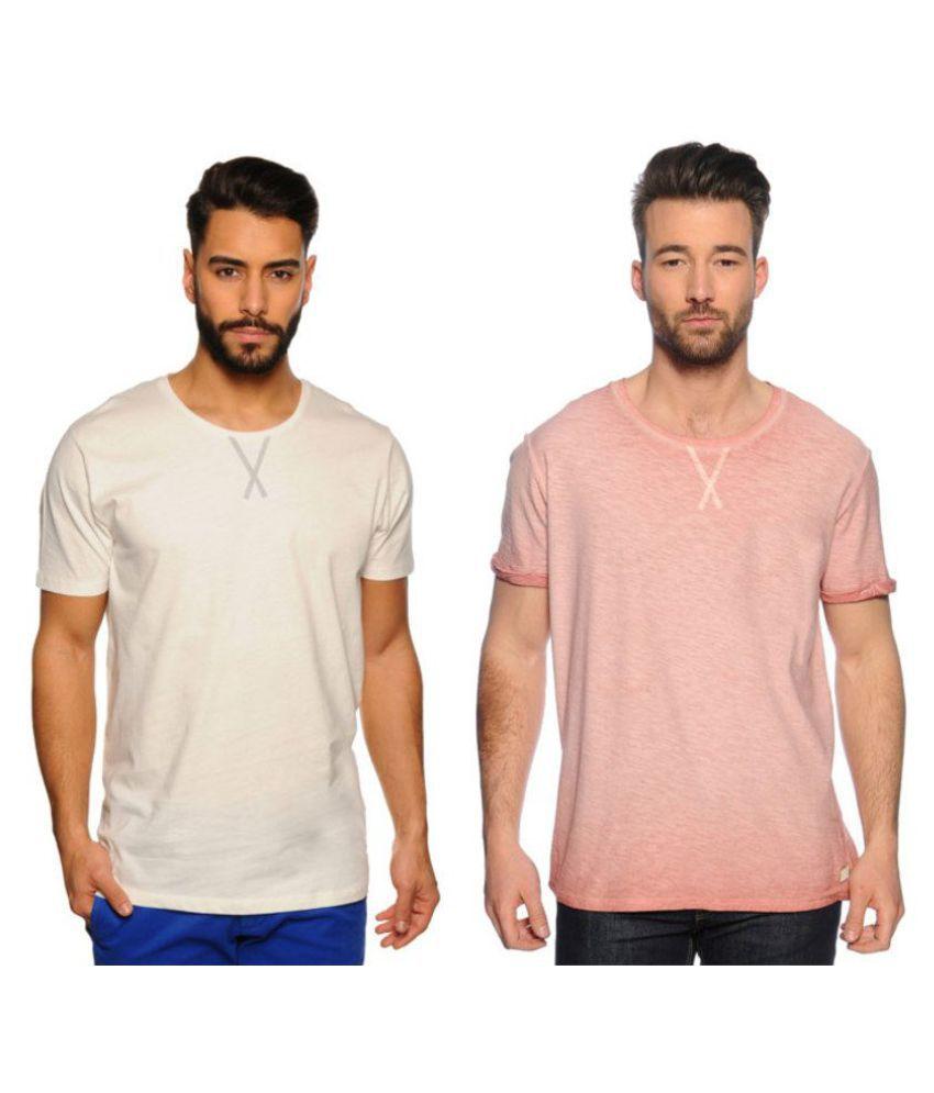 Zachi Peach Round T-Shirt