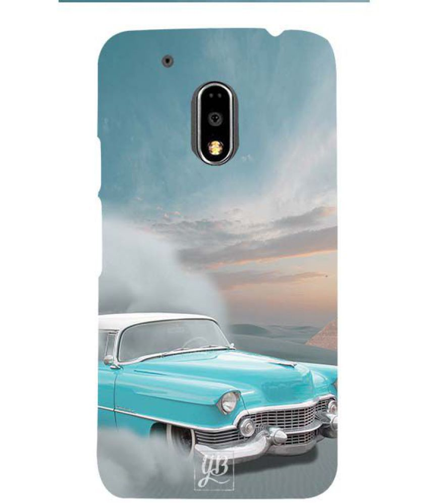 Moto G4 3D Back Covers By YuBingo
