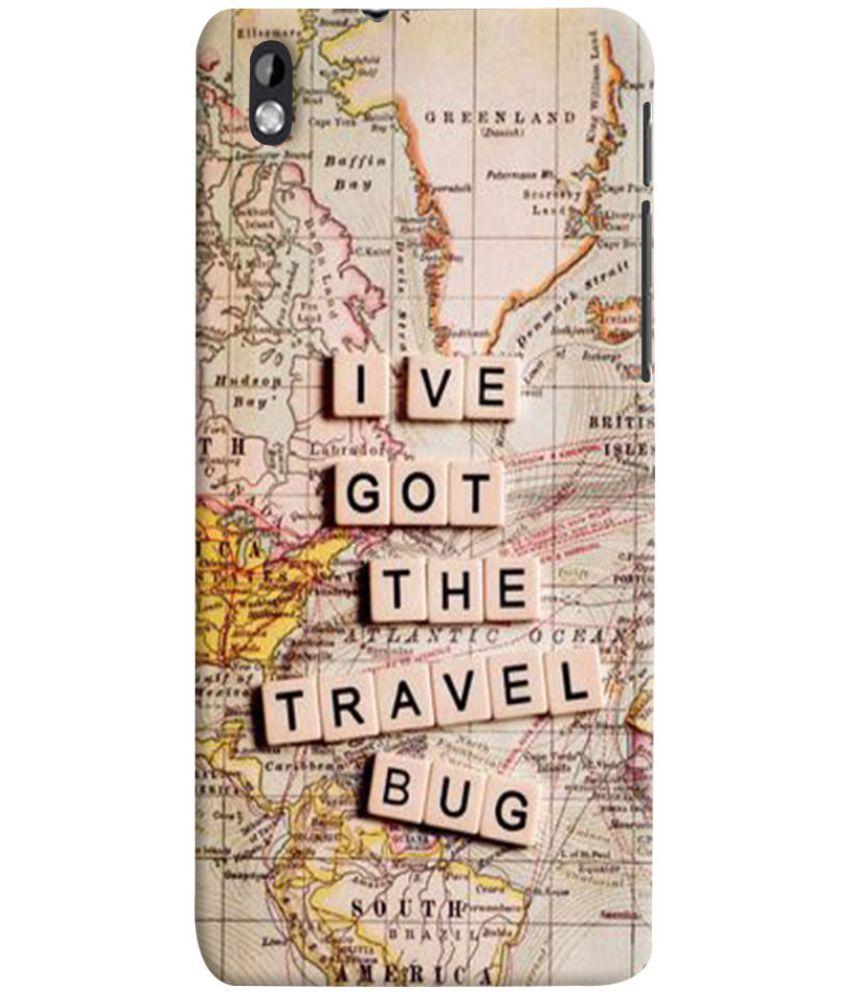 HTC Desire 816 Printed Cover By Case King