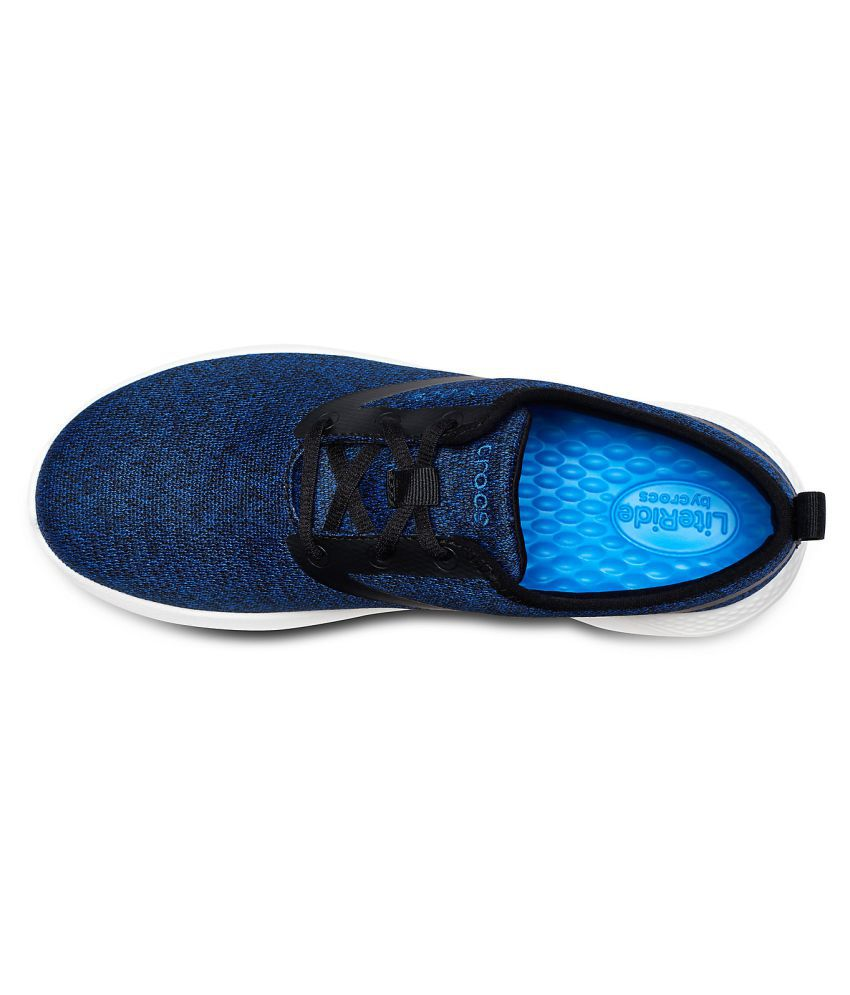 e95d6d1679 Crocs LiteRide Lace M Sneakers Blue Casual Shoes - Buy Crocs ...