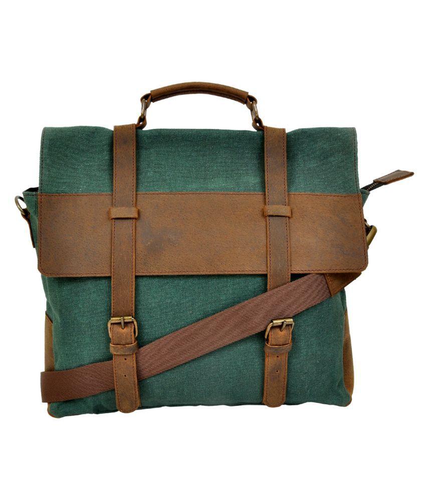 Hyde & Syde Multi Color Office Messenger Bag