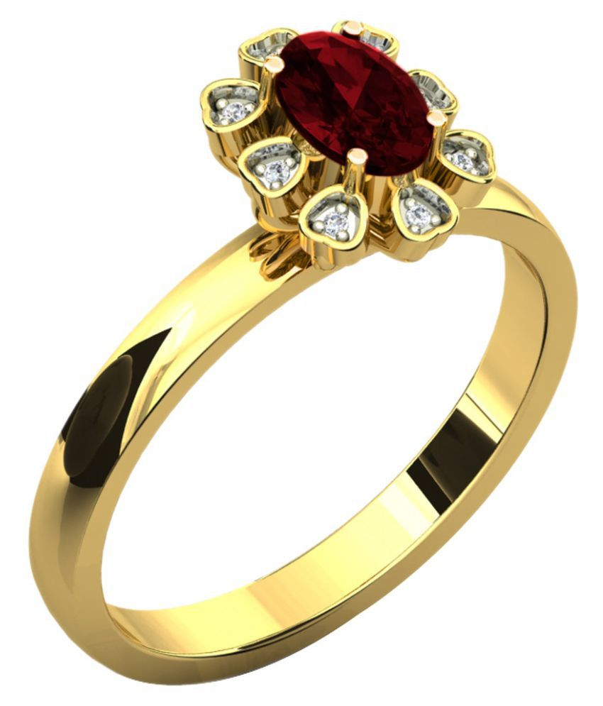 His & Her 18k Yellow Gold Ring