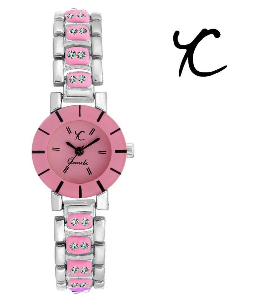 Youth Club Tiny Pink Watch For Girls