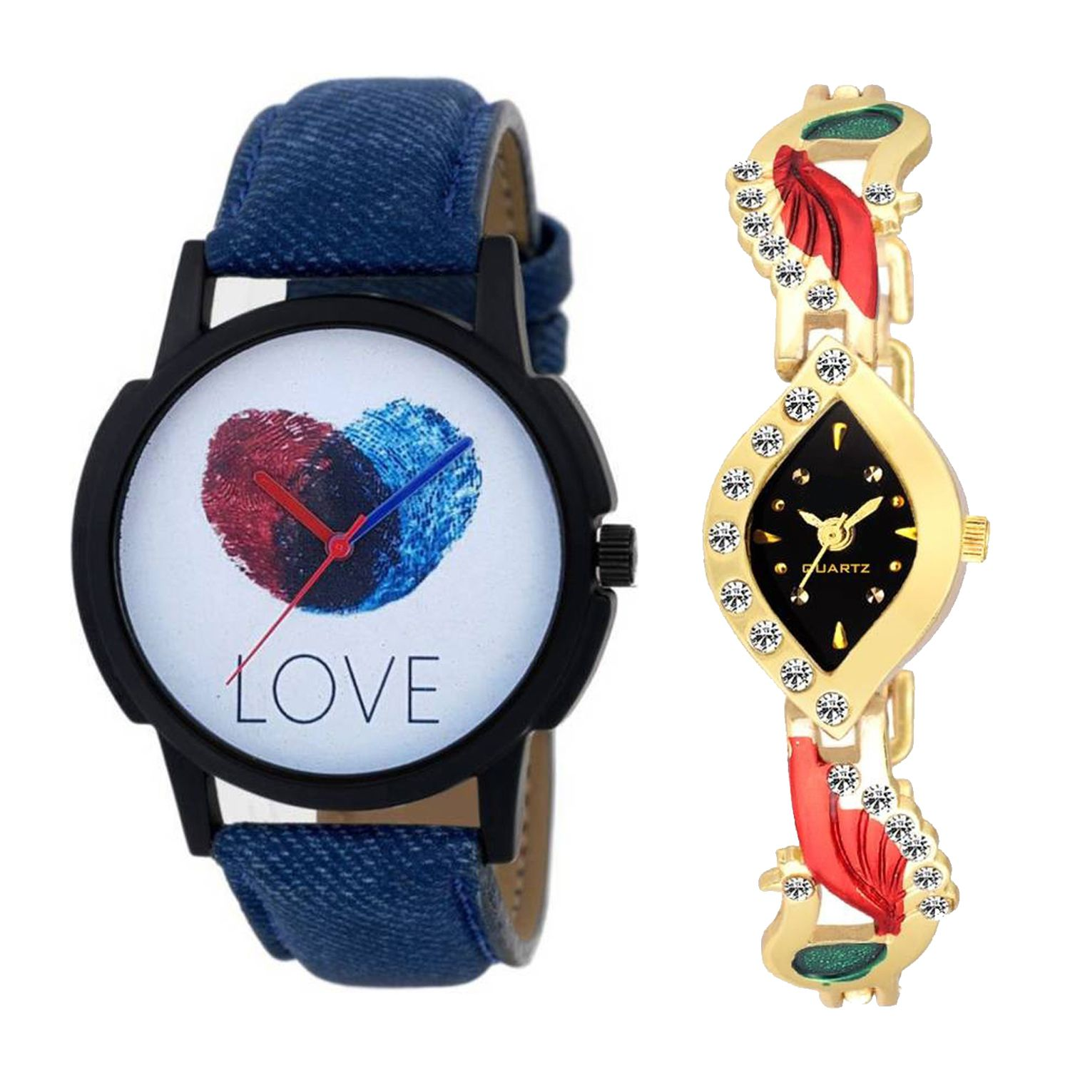 a4b8130077 OD-C2-0L22 New Arrival Stylish Combo Couple Watch For Boys & Girls Price in  India: Buy OD-C2-0L22 New Arrival Stylish Combo Couple Watch For Boys &  Girls ...
