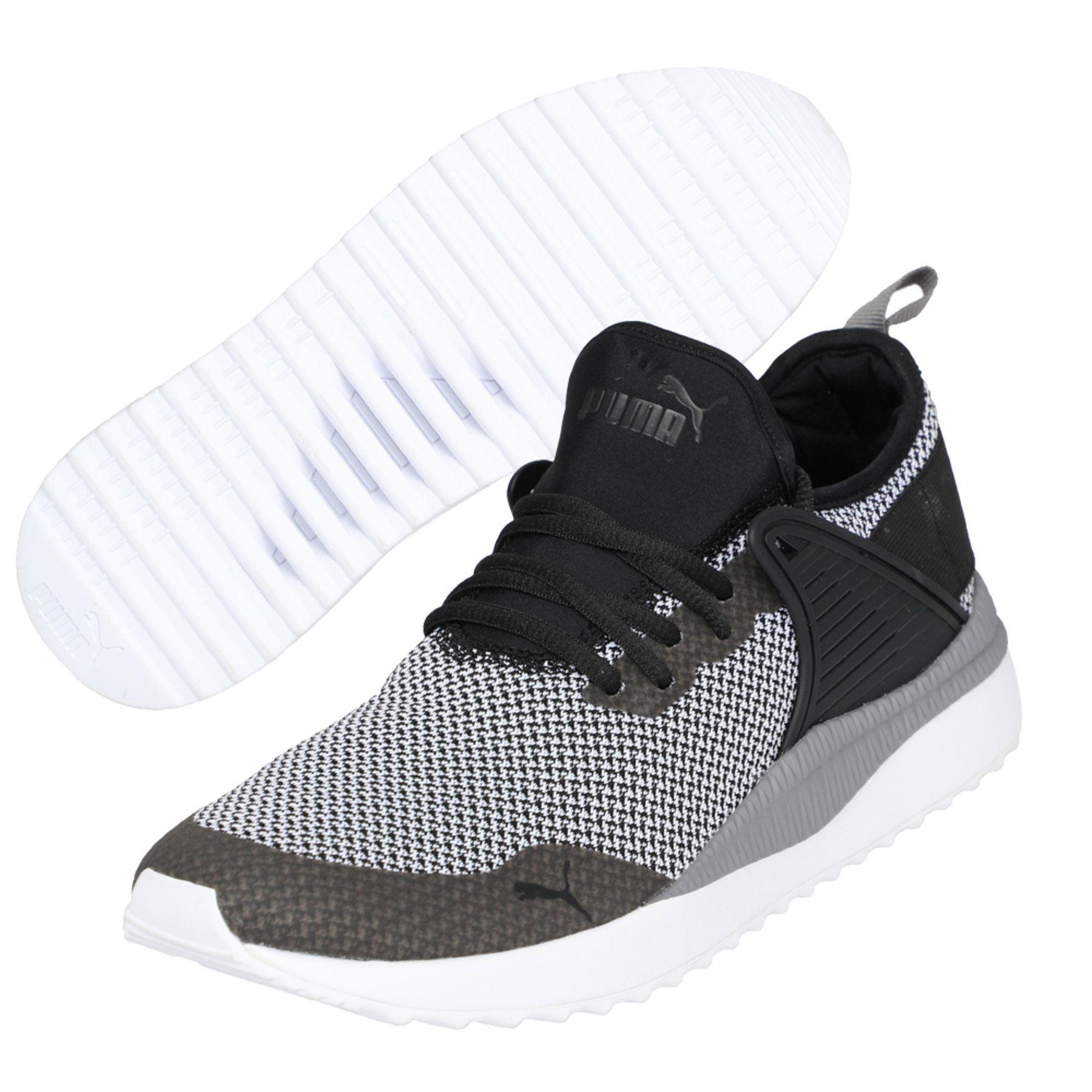 c1d5fa6e6d3 Puma Pacer Next Cage Gk Black Running Shoes - Buy Puma Pacer Next ...