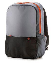 HP Branded Backpacks Laptop Bags Orange