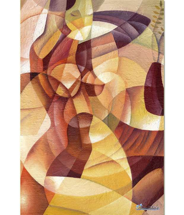 Anwesha's Gallery Wrapped Digitally Printed 30x20 Inch - 097 Canvas Painting With Frame