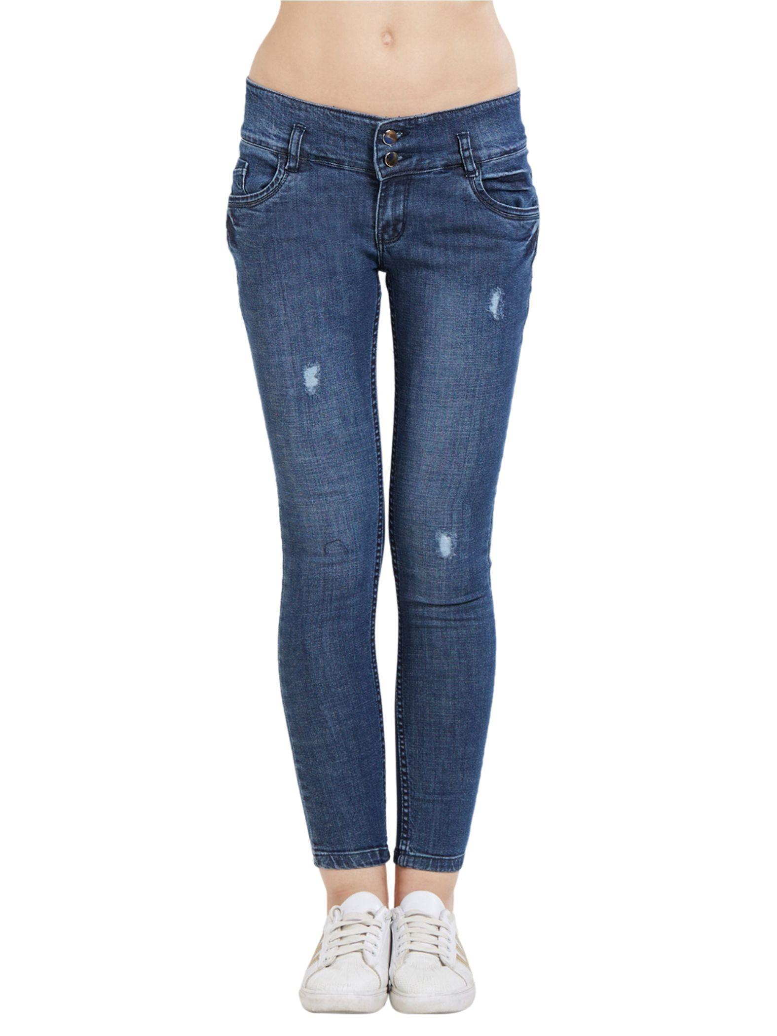 Blancz Cotton Jeans - Blue