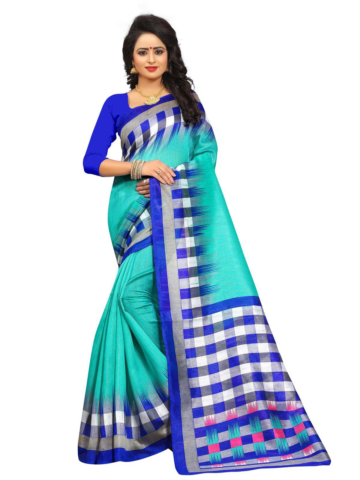 Fashionsurat Multicoloured Bhagalpuri Silk Saree