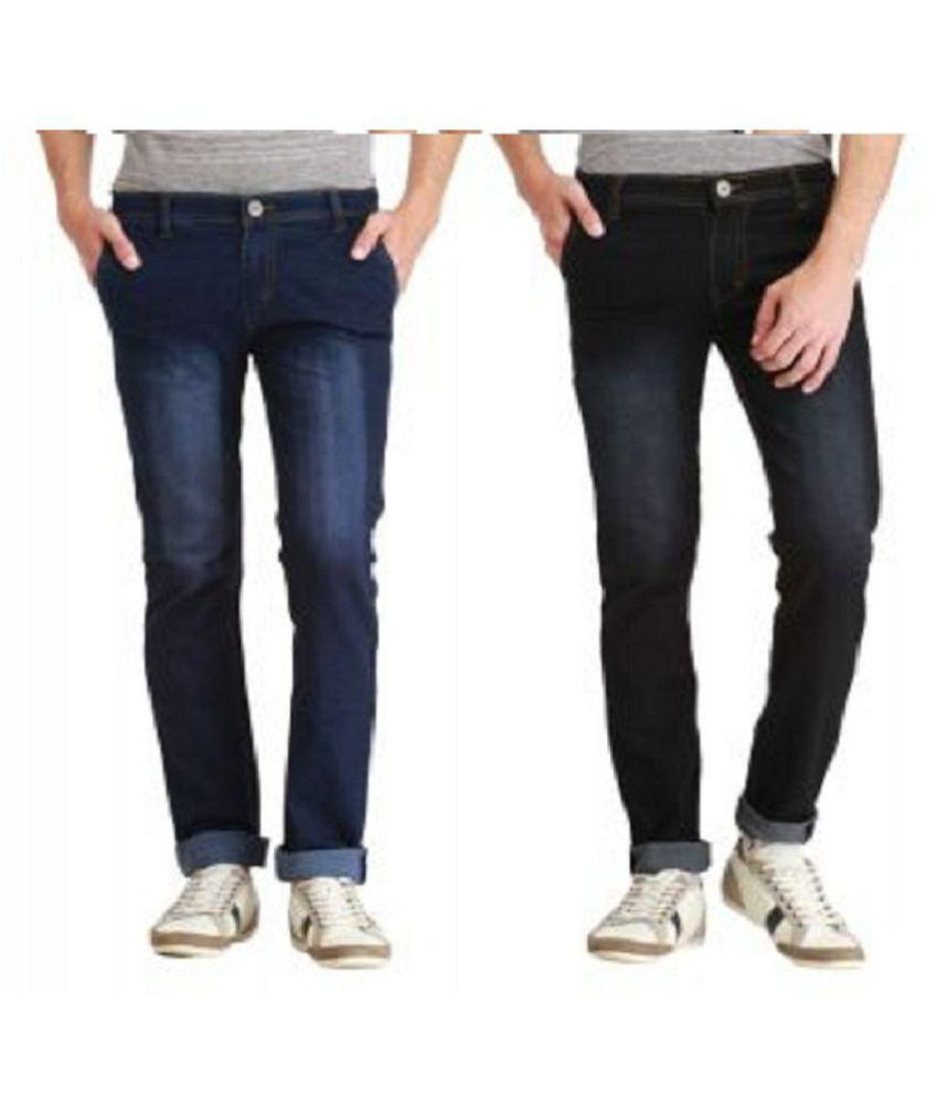 Narayana Multicolored Regular Fit Jeans