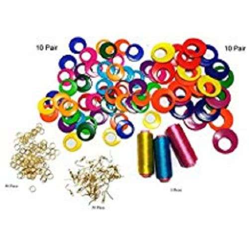 f2e6d410ea Valuebuy silk thread jewellery, earring base for jewellery making, earring  making materials kit,: Buy Online at Best Price in India - Snapdeal