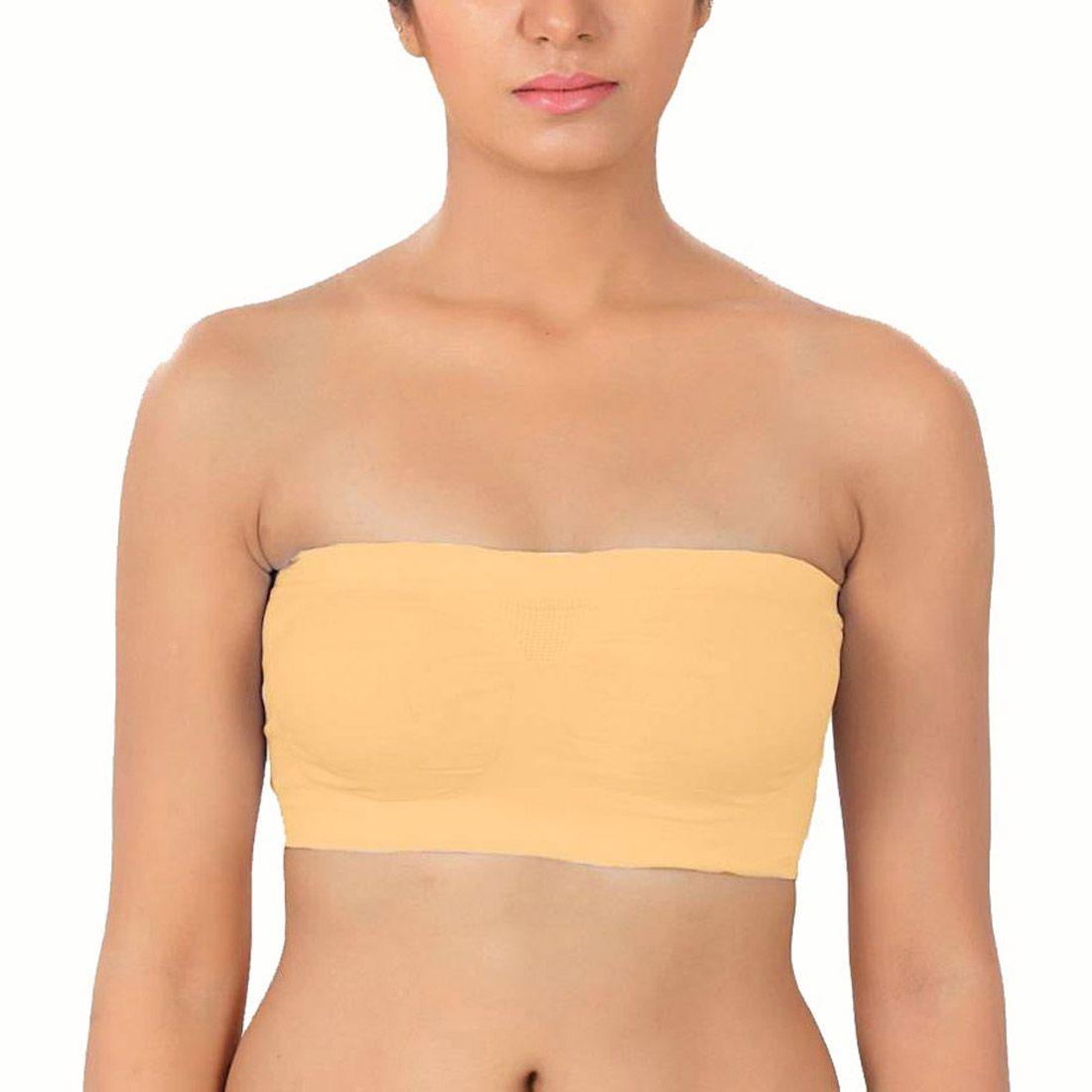Allied Fashion Cotton Teenage Bra - Yellow
