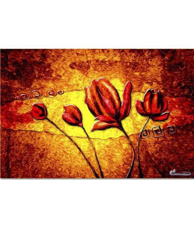 Anwesha's Gallery Wrapped 30x20 Inch Canvas Painting With Frame