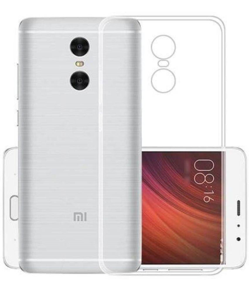 Xiaomi Redmi Note 4 Soft Silicon Cases Deepcellmart - Transparent