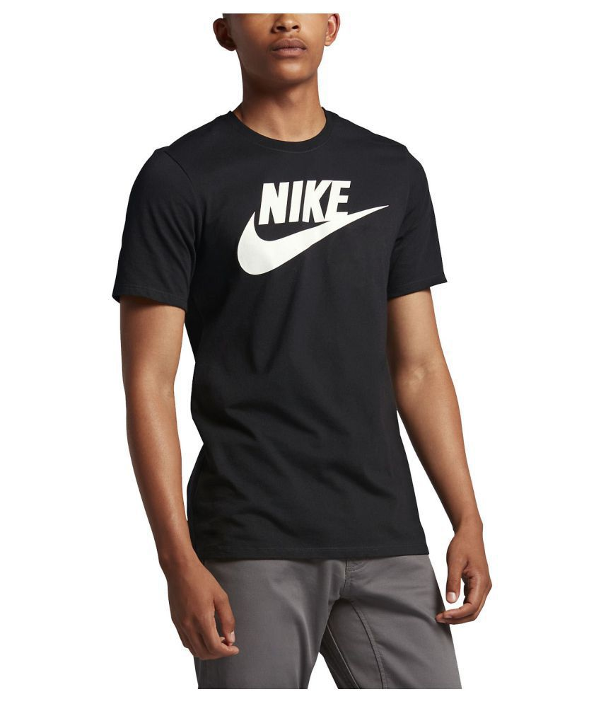 brand quality buying cheap top-rated latest Nike Black Half Sleeve T-Shirt