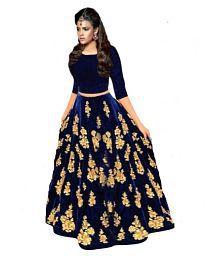 12a4140d2d5 Velvet Lehenga  Buy Velvet Lehenga for Women Online at Low Prices in ...