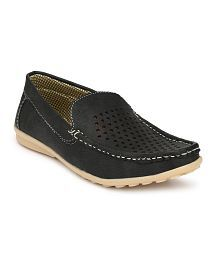 LIZAA Black Designer Shoe