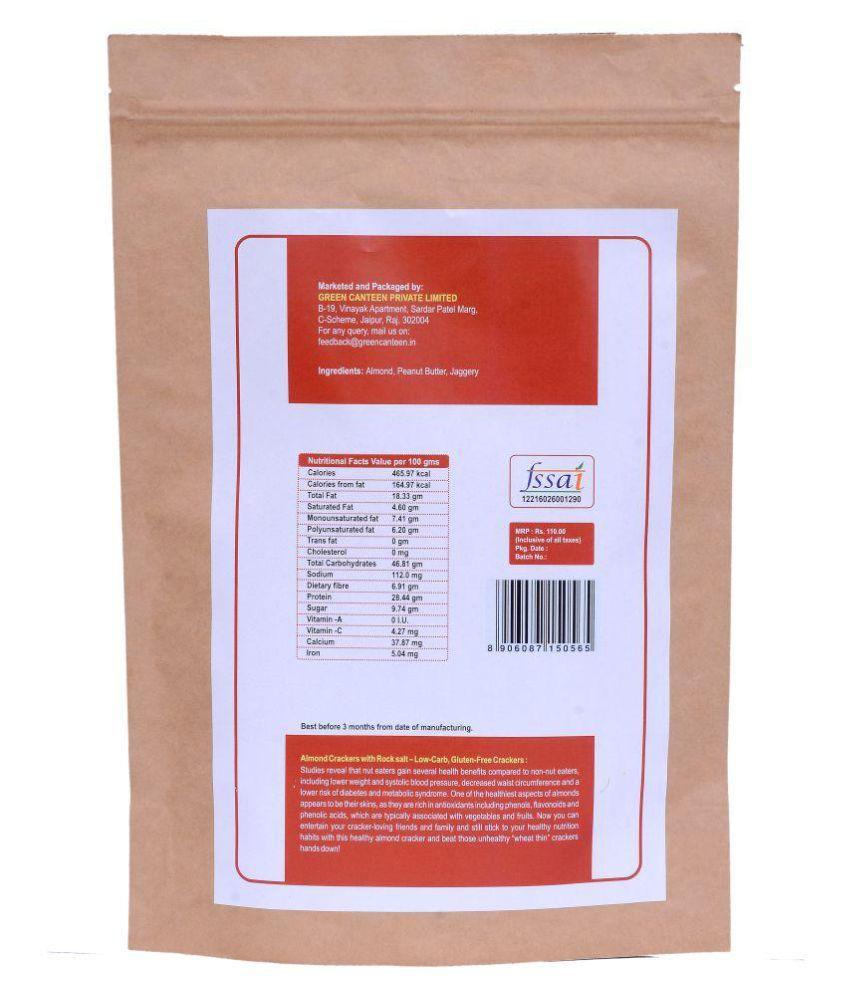 Green Canteen Jaggery Crackers 60 gm: Buy Green Canteen