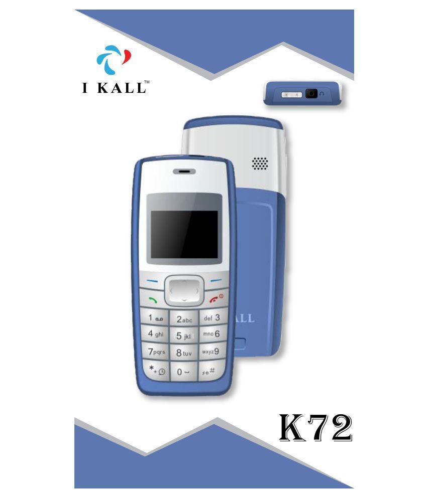 I Kall 1.44 Inch K72 Blue
