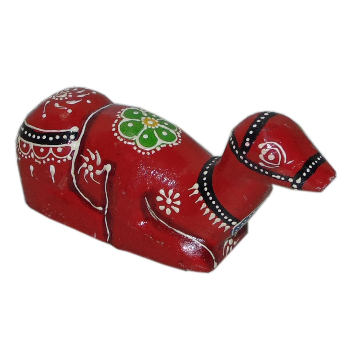 Akhani Handicrafts Multicolour Wood Handicraft Showpiece - Pack of 1