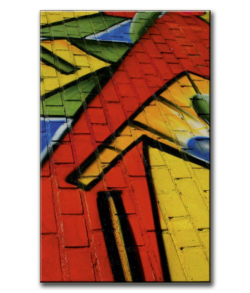 Anwesha's Gallery Wrapped Digitally Printed 12.5 X 20 Inch - Wall Art Canvas Painting With Frame