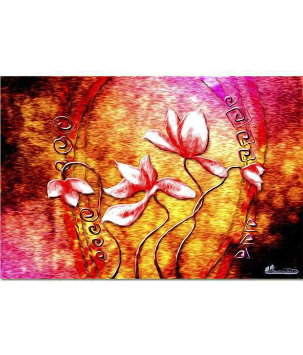 Anwesha's Gallery Wrapped Digitally Printed 30x20 Inch - 134 Canvas Painting With Frame