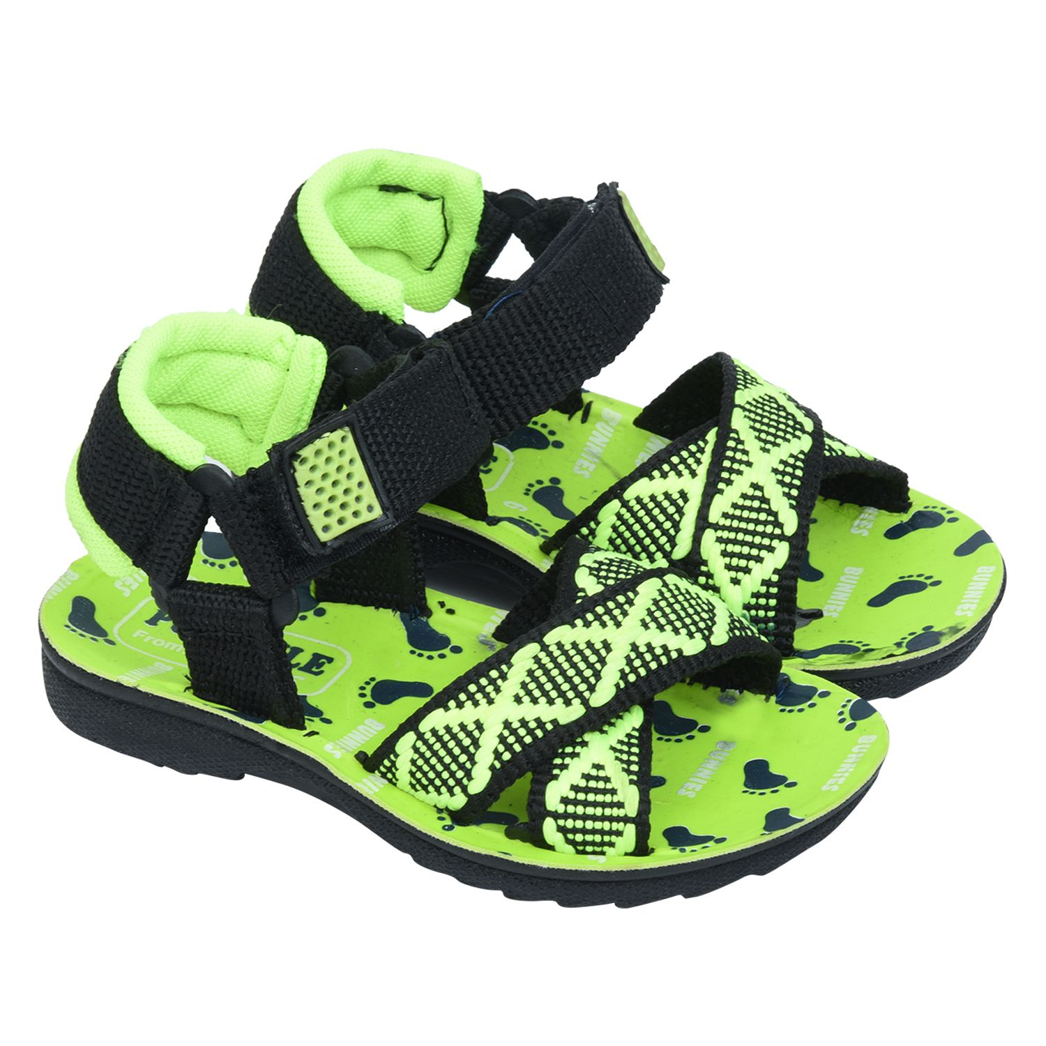 Bunnies kids sandal (green) discount excellent vhQUJC