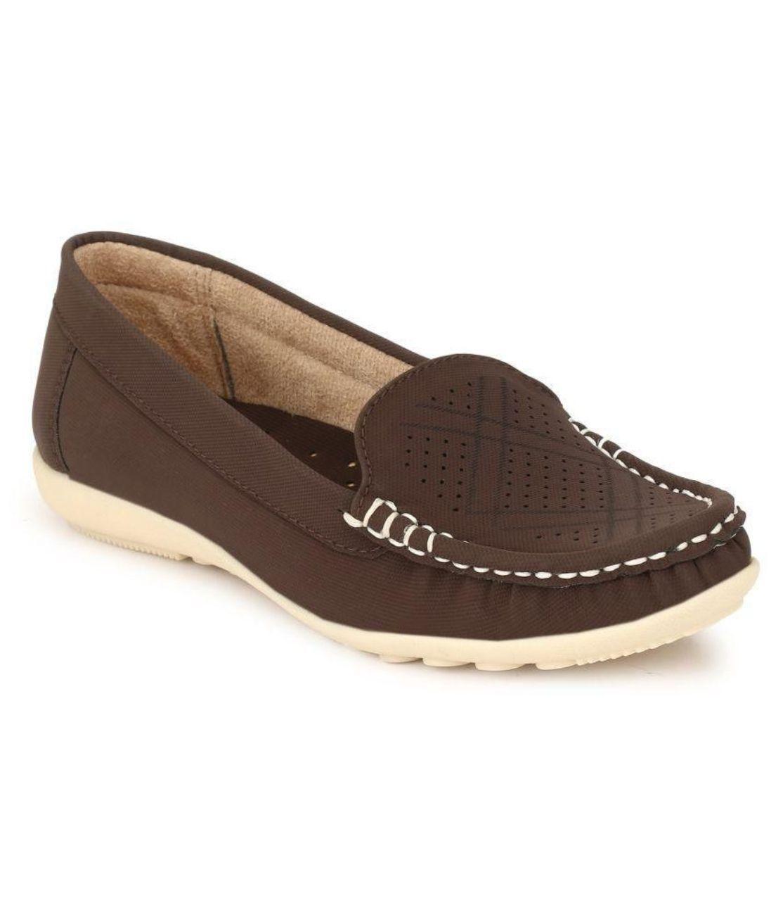 Rimezs Brown Casual Shoes