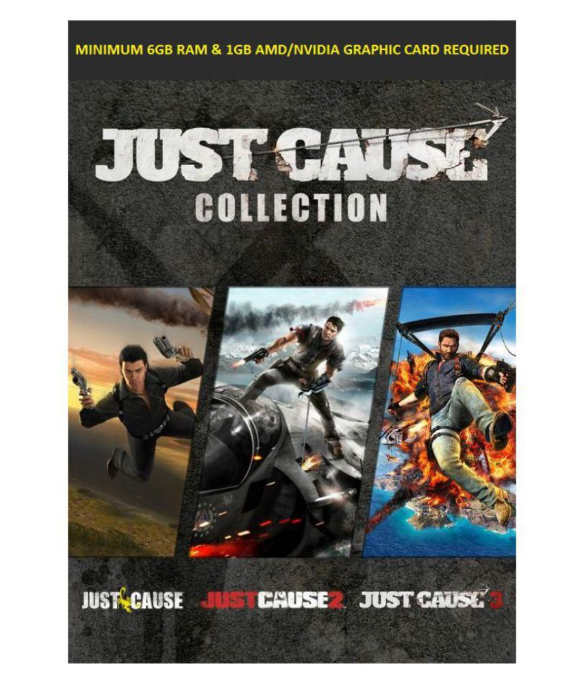 Buy Just Cause Trilogy Offline Mode Windows 7 Only Pc Game Online At Best Price In India Snapdeal
