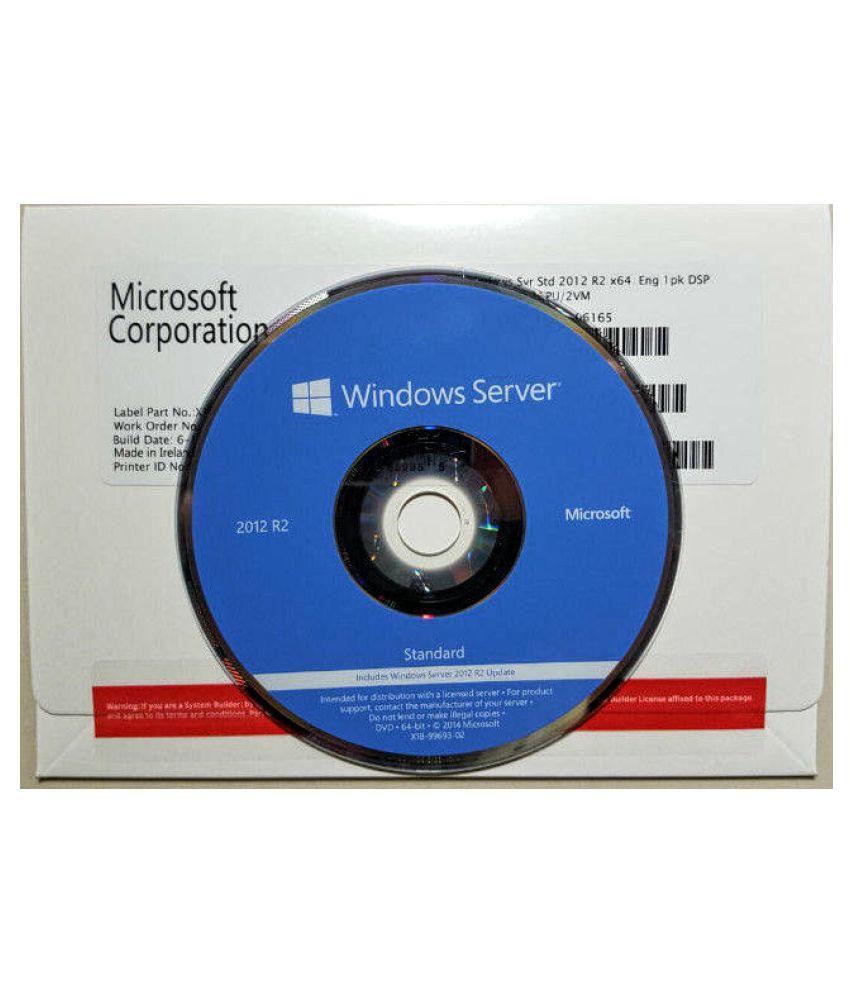 Microsoft Windows Server 2012 R2 Standard 64 Bit ( DVD )