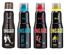 pack of 4 Engage men best flavored collection pack of 4