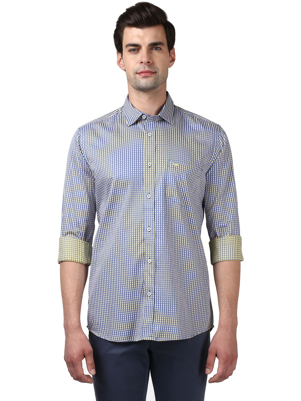 Colorplus Yellow Regular Fit Shirt